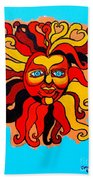 Sun God II Beach Towel