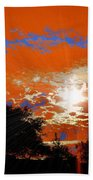 Sunburst Beach Towel by RJ Aguilar