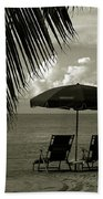 Sunday Morning In Key West Beach Towel