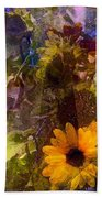 Sunflower 12 Beach Towel