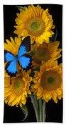 Sunflower Bouquet  Beach Towel