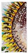 Sunflower Fish 3 Beach Towel