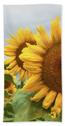 Sunflower Season Beach Towel