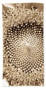 Sunflower Seeds Beach Towel