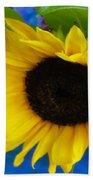 Sunflower Too Beach Towel