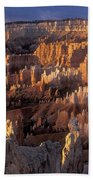 Sunrise At Brice Canyon Amphitheatre Beach Towel