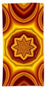 Sunrise Kaleido Beach Towel