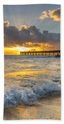 Sunrise Lights Beach Towel