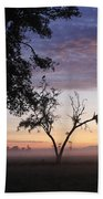 Sunrise On The Masai Mara Beach Towel