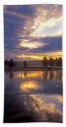 Sunrise Reflections Beach Towel