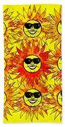 Suns Party Beach Towel