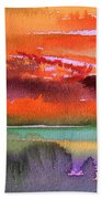 Sunset 04 Beach Towel