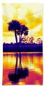 Sunset Colour Beach Towel