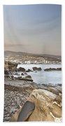 Sunset On The Mediterranean Beach Towel