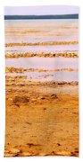 Sunset On The Mud Flats Beach Towel