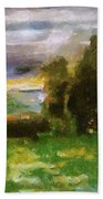 Sunset On The Road - The Highway Series Beach Towel