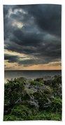Sunset On The Sound Beach Towel