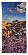 Sunset Over Red Rocks Beach Towel