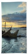 Sunset Over The Admiral Beach Towel