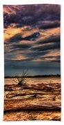 Sunset Rocks Beach Towel