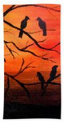 Sunset Secrets Beach Towel