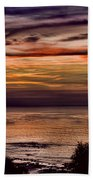 Sunset Swirl Beach Towel