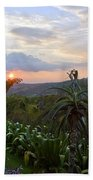 Sunsetting Over Costa Rica Beach Towel