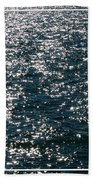 Sunshine Sparkling On Lake Erie Beach Towel
