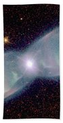 Supersonic Exhaust From Nebula Beach Towel