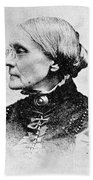 Susan B. Anthony, American Civil Rights Beach Towel by Photo Researchers, Inc.