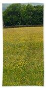 Swaledale Buttercup Meadow Beach Towel