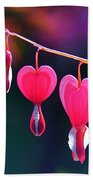 Sweet Hearts Beach Towel