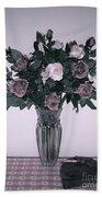 Sweet Valentine Bouquet  Beach Towel