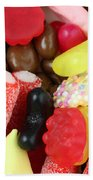 Sweets And Candy Mix Beach Towel