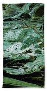 Swirling Algae Beach Towel