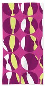 Swirly Stripe Beach Towel by Louisa Knight