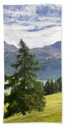 Swiss Alps Beach Towel