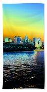 Sydney In Color Beach Sheet