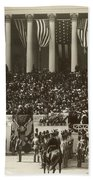 T. Roosevelt Inauguration Beach Towel