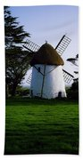 Tacumshane Windmill, Co Wexford, Ireland Beach Towel