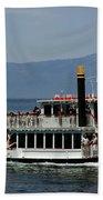 Tahoe Gal On Lake Tahoe Beach Towel