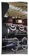 Tahoe Steam Locomotive Beach Towel
