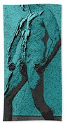 Teal Appeal Beach Towel