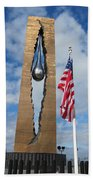 Teardrop Memorial Beach Towel