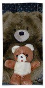 Teddy Elder Care Bear Beach Towel