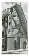 Telescope At The Paris Obervatory Beach Towel
