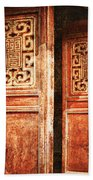 Temple Door Beach Towel