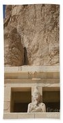 Temple Of Hatshepsut Beach Towel