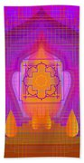 Temple Of The Inner Flame 2012 Beach Towel