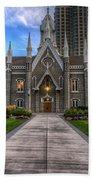 Temple Square Assembly Hall Beach Towel